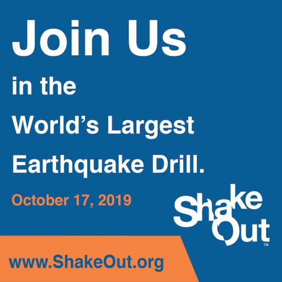 ShakeOut invitation