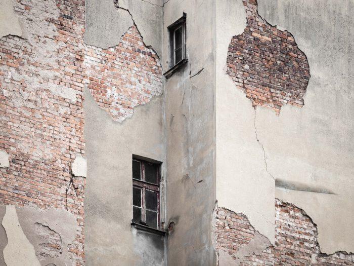 Bldg exterior damage